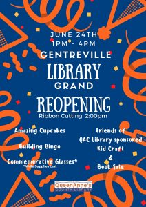 Centreville re-opening flyer