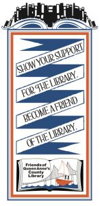 support the library banner