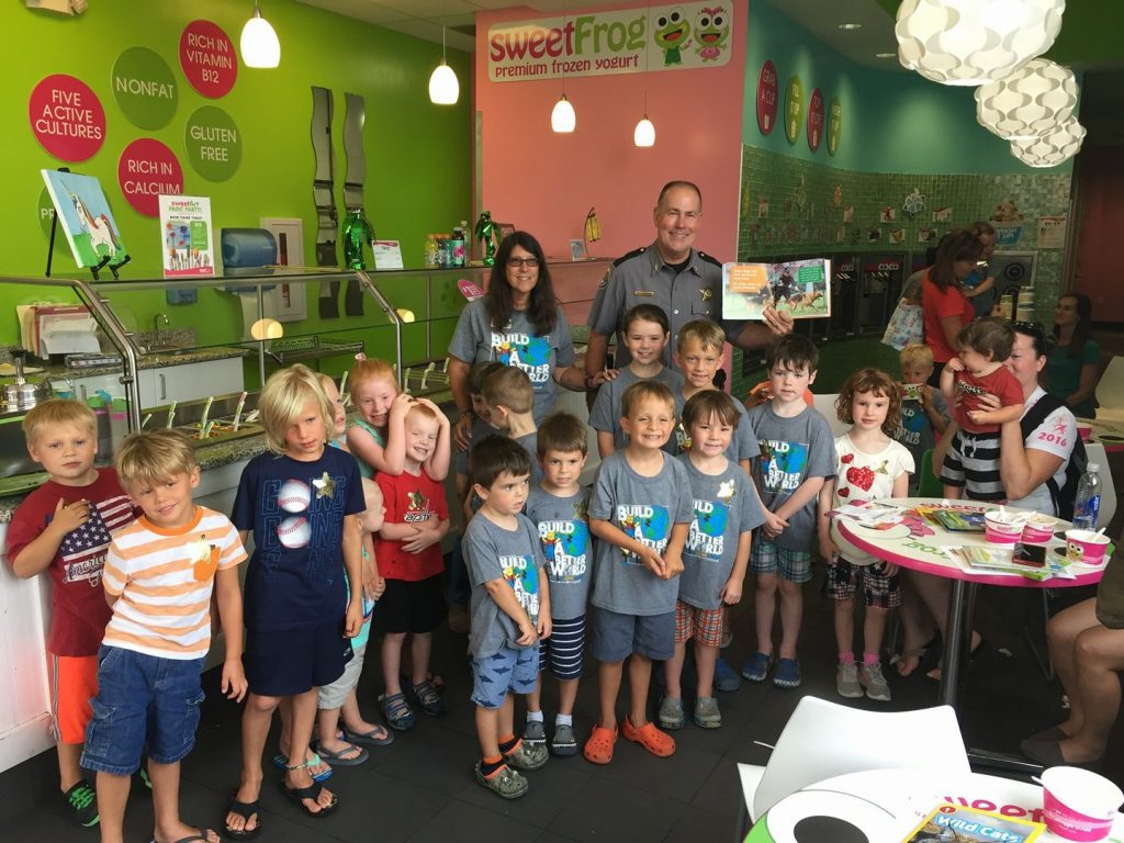 sweet frog 2017 with sheriff